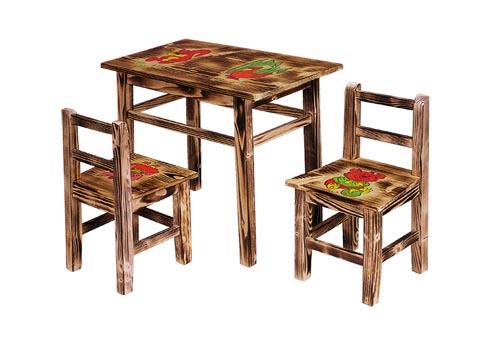 d248feb63c3c2 Detský stolík so stoličkami | Záhradné centrum NONEBERTO - drevené ...